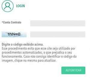 2 via Cosern - Login Portal de serviços Cosern
