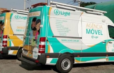 Agências móveis da Light