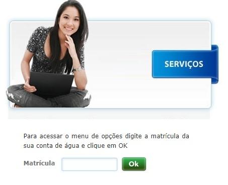 Caerd 2 via de conta - Página da agência virtual