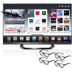 Smart TV 3D LED Plus 47  LG