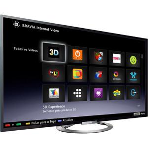 Smart TV 3D LED 55 Sony KDL-55W955A Full HD