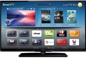SmartTV LED 32 Philips 32PFL3518 Full HD