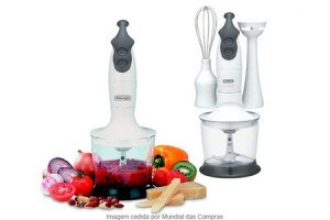 Mixer manual 3 em 1 Delonghi