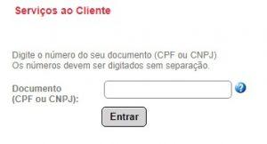 2 Via CEEE - Login usando CPF ou CNPJ