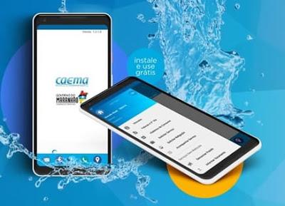 Foto do Caema Mobile instalado em Smartphone com sistema android