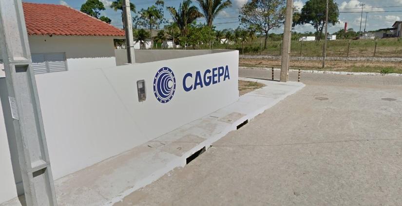 Cagepa 2 via - Foto da Estação Elevatória de Esgoto Distrito Industrial