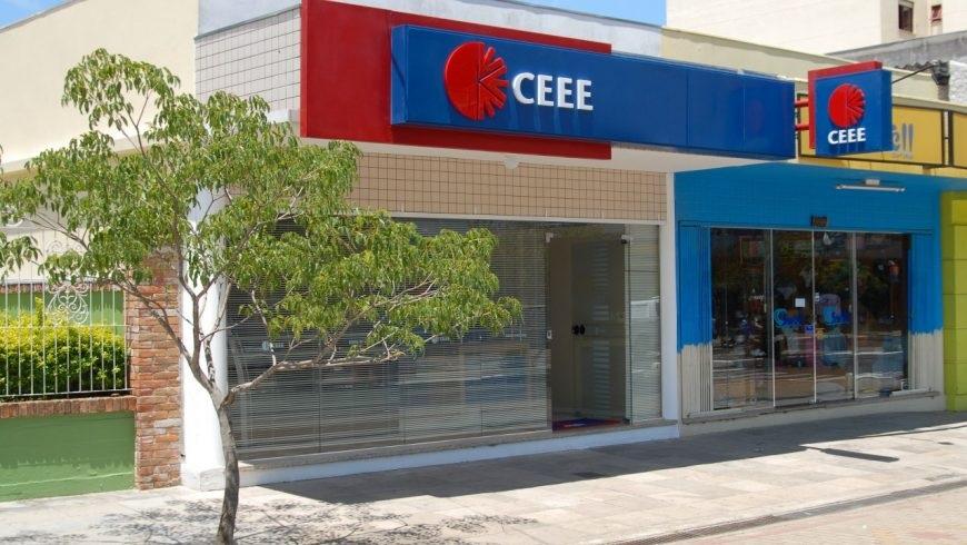 Foto com a fachada da Loja de atendimento da CEEE