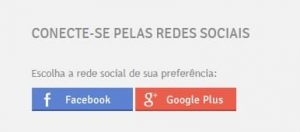 Redes sociais - Facebook e Google Plus