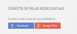 Redes sociais - Facebook e Google Plus
