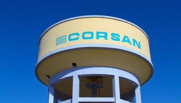 Foto do Reservatório de água da Corsan