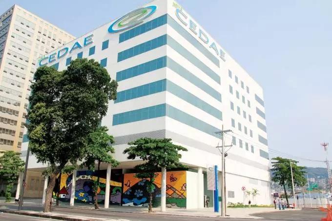 Cedae segunda via - Foto da sede da Companhia Estadual de Águas e Esgotos do Rio de Janeiro