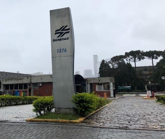 Foto da Sede da Companhia de Saneamento do Paraná