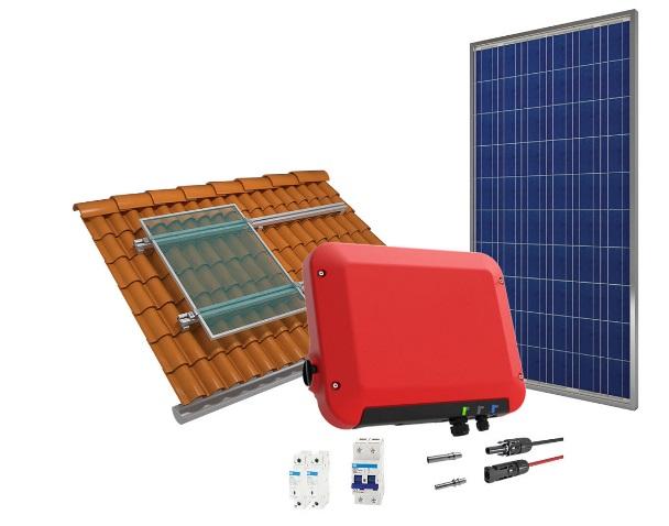 Kit completo de energia solar de 1,44 kWp