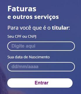 Print da Pagina de acesso a agência web da Equatorial Energia Piauí
