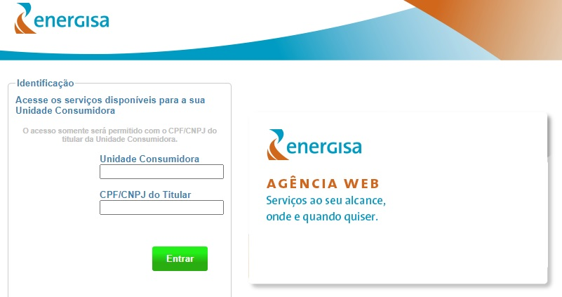 Print da pagina da Agência Web Energisa Acre