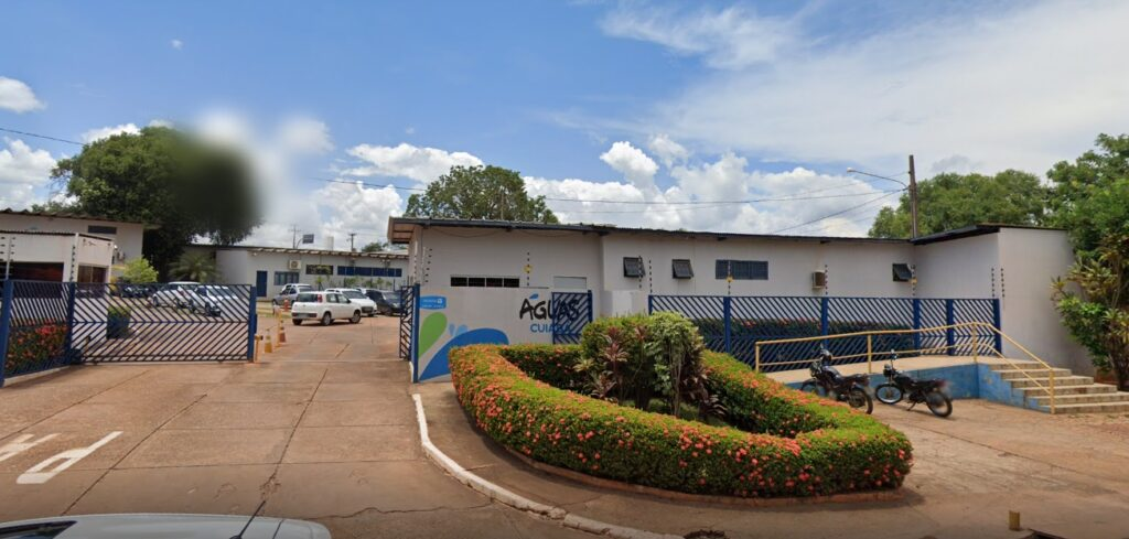 Foto da Sede da Águas Cuiabá