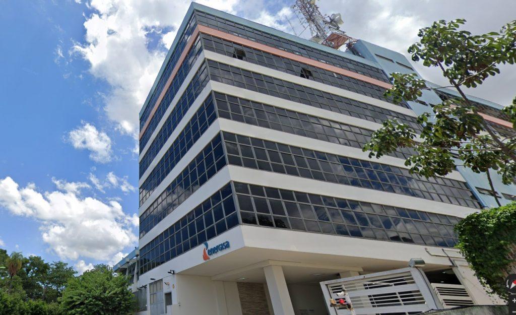 Foto da Sede da Companhia de energia do Estado do Mato Grosso