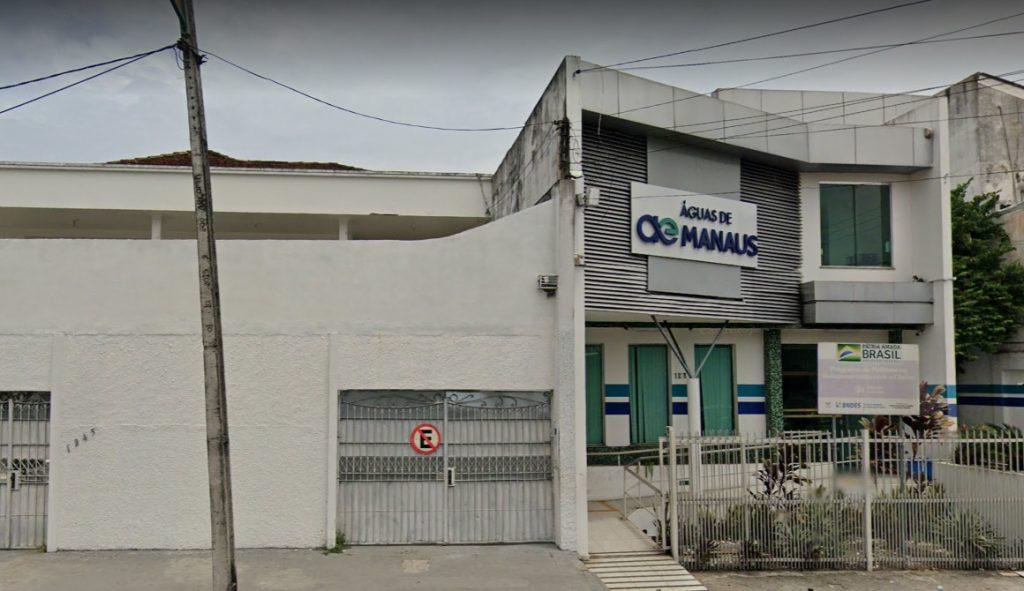 Foto da Sede da Companhia Águas de Manaus