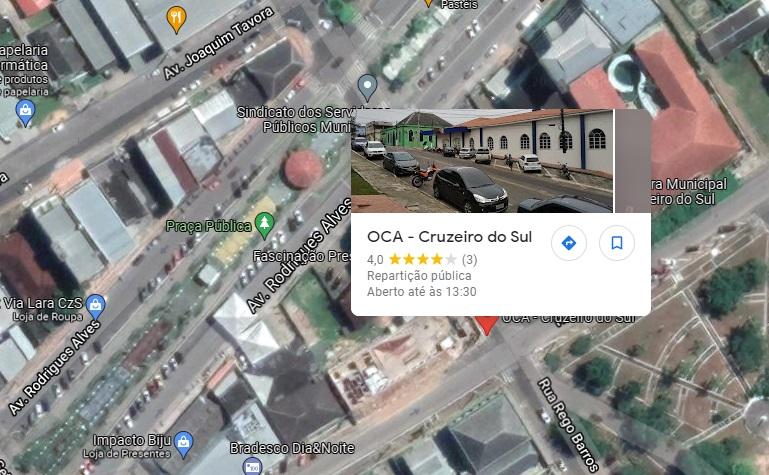 Foto da OCA Cruzeiro do Sul